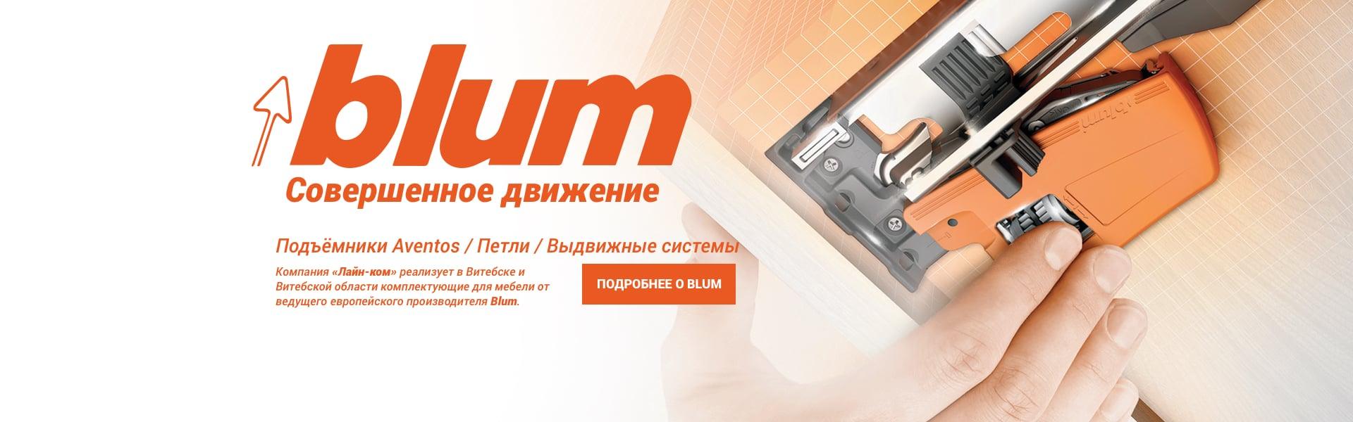 Blum-banner